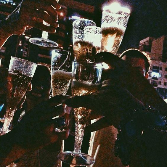 Status say rượu