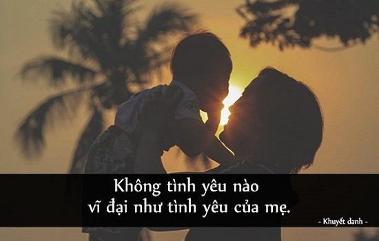 [99] STT mẹ yêu con, Những câu nói về mẹ con ý nghĩa